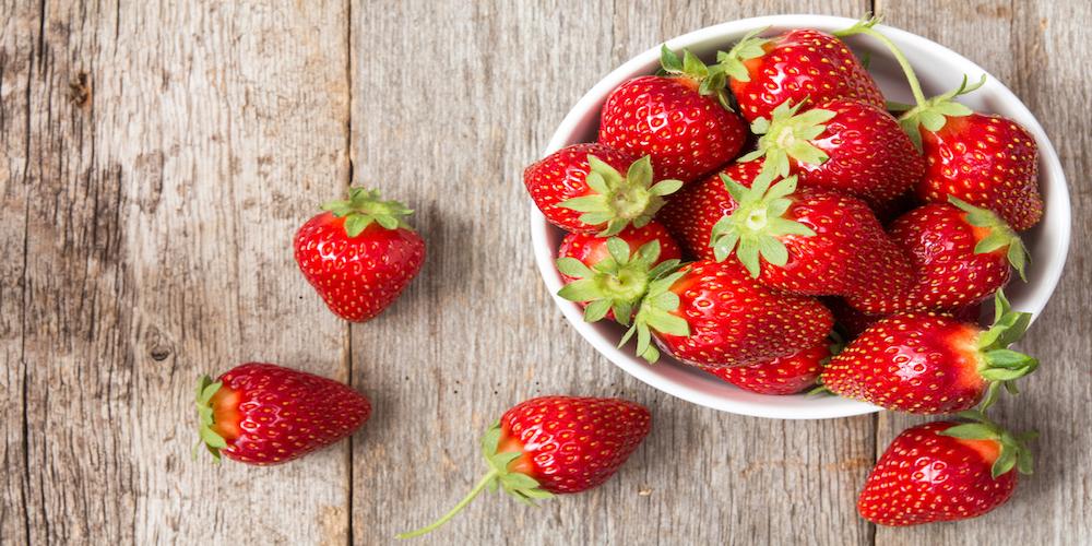 Ab heute: Erdbeeren von Hubert Bulich